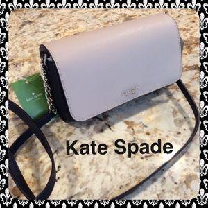 New Kate Spade color-block crossbody Bag